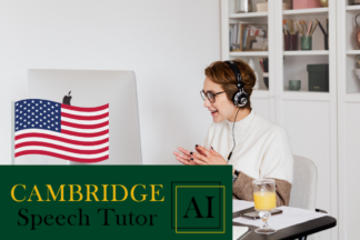 Learn to speak American, British and Australian English accent online - Cambridge AI Speech Tutor Pro - Fixed time plans